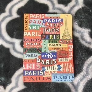 "Paris 5.5""x4"" sketchbook"